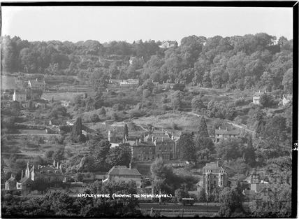 View of Limpley Stoke showing the Hydro Hotel, Oct 1936