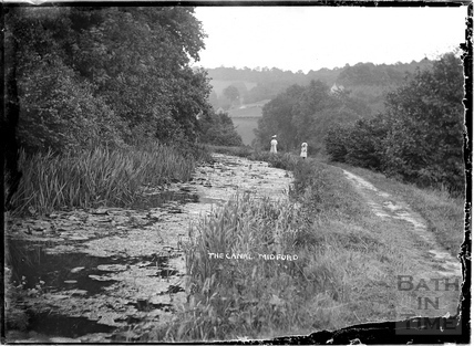 The Canal, Tucking Mill, nr. Midford c.1904