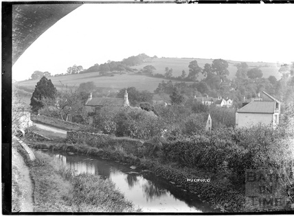 The Canal, Midford c.1904