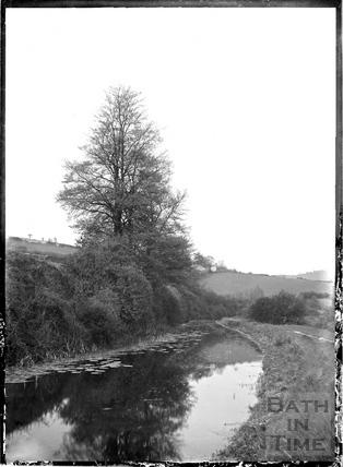 The Canal, Monkton Combe c.1904
