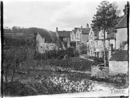 Buildings by Midford Mill c.1910