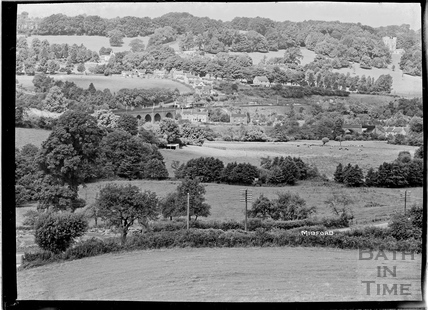 View of Midford, c.1930s