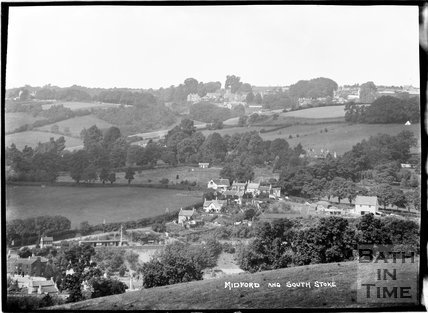 View of Midford with South Stoke in the background, c.1930s