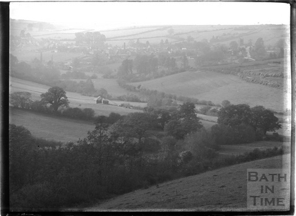View of Wellow c.1904