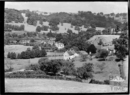 View of Midford and Castle c.1930s