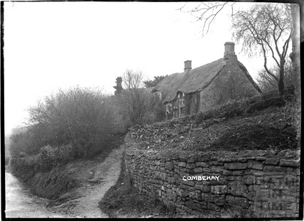 Village cottage, Combe Hay c.1910