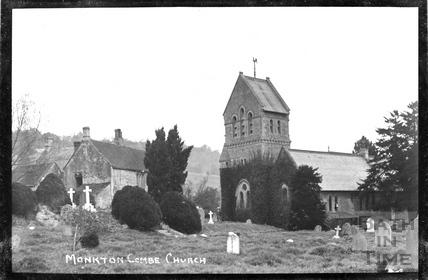 St Michaels, Monkton Combe Church c.1910