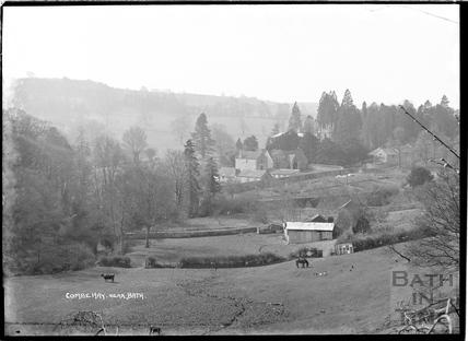 Combe Hay view c.1930s