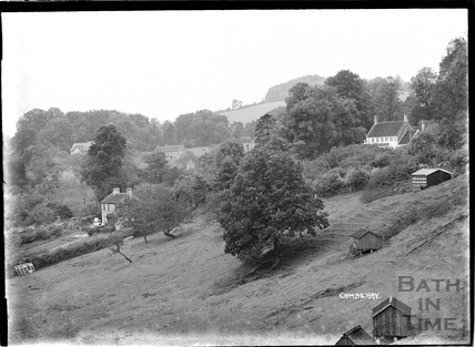 A view of Combe Hay, c.1930s