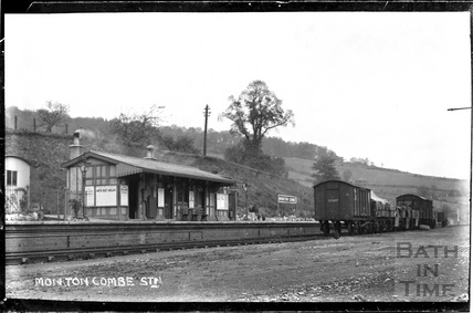 Monkton Combe Station 1910