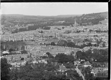 View of Bath Looking west No 8 c.1935