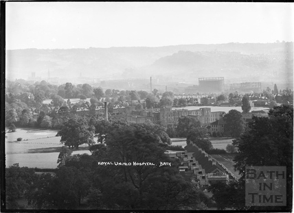 View of the Royal United Hospital, c.1936