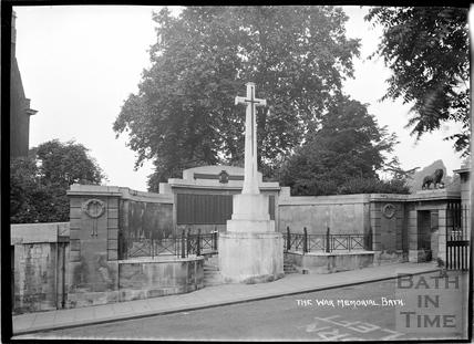 The War Memorial, Victoria Park c.1930s