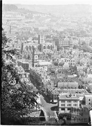 A Peep from Beechen Cliff, c.1935