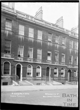 Nos 8, 9 and 10 Henrietta Street c.1930s
