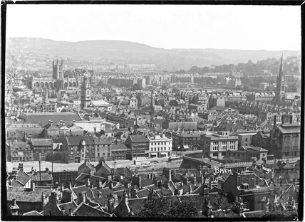 View of Bath from Beechen Cliff No 3, c.1930s