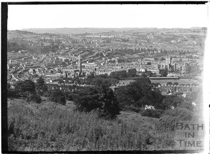 View of Bath looking west No 9. c.1930s