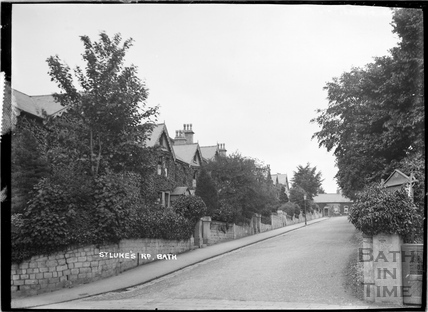 St Luke's Road, Wellsway c.1908