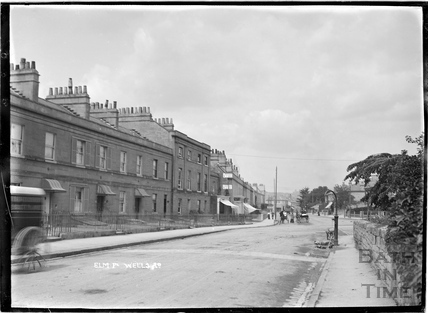 Elm Place, Bloomfield Road at Bear Flat c.1908