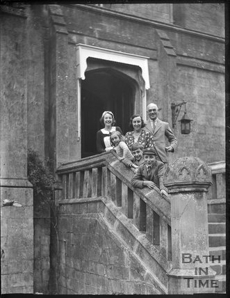 The Carwardine Family, Entry Hill House c.1930s