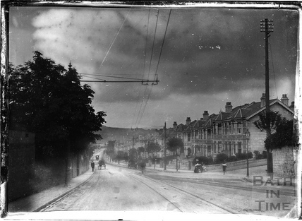 Looking down Entry Hill c.1905