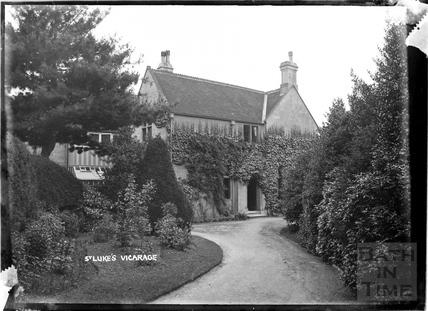 St Luke's Vicarage, Wellsway c.1908