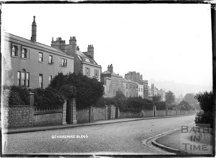 Devonshire Buildings c.1908