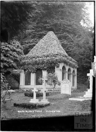 Ralph Allen's Tomb, Claverton c.1930s
