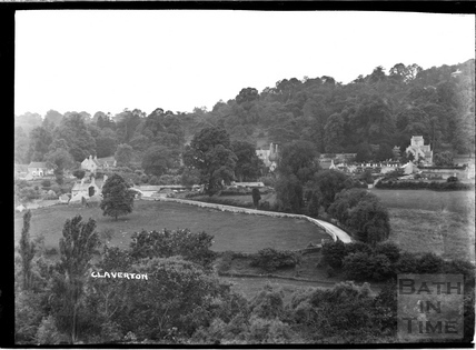General View from the Kennet and Avon Canal, Claverton c.1930