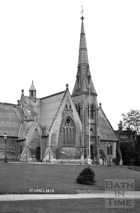 St. Luke's Church, Wellsway c.1905 - detail