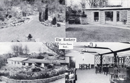 The Rockery Tea Gardens, Bradford Road, Combe Down c.1960s
