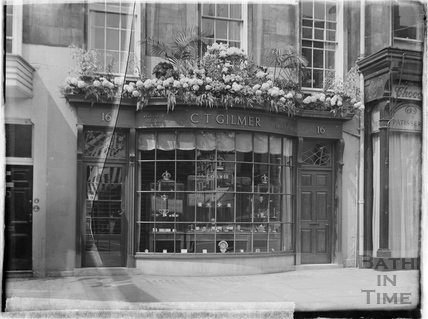 C.T. Gilmer jewellers, Old Bond Street c.1930s