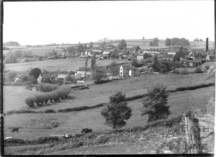 View of Wellow village, No 8. 1953