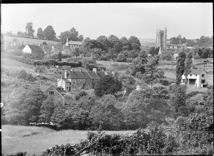 View of Wellow village No 2. c.1950s