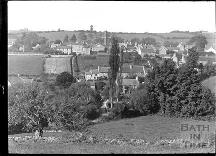 Wellow village view No.12 c.1950s
