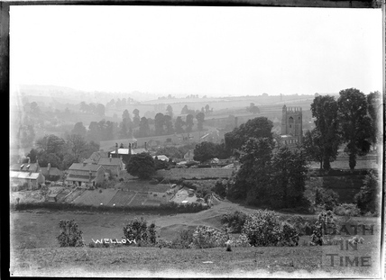 Village view, Wellow c.1930s