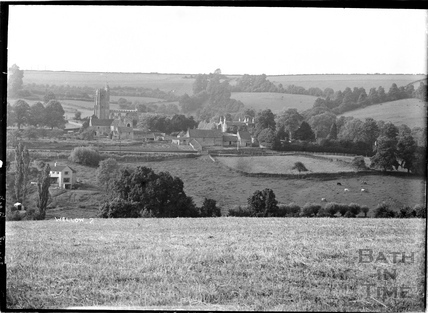 Wellow village view No.7 c.1950s