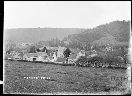 View of Monkton Combe c.1907