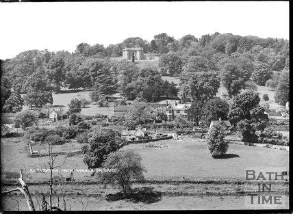 View of Claverton Village from Warleigh Lane c.1930s