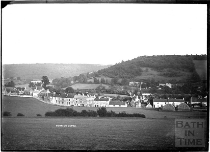 View of Monkton Combe c.1904