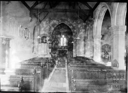 Inside Southstoke Church, 22 March 1938