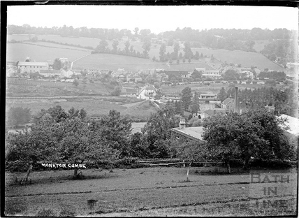 View of Monkton Combe and Freeman's Mill c.1910