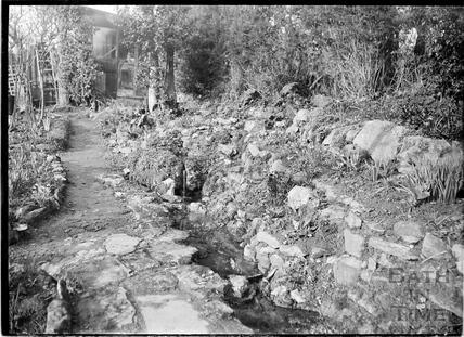 Study of unknown garden c.1930s