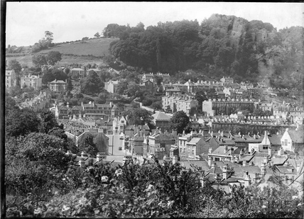 View of Bath towards Widcombe and Beechen Cliff, c.1936