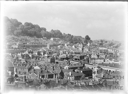 View of Bath from Sydney Buildings, c.1936