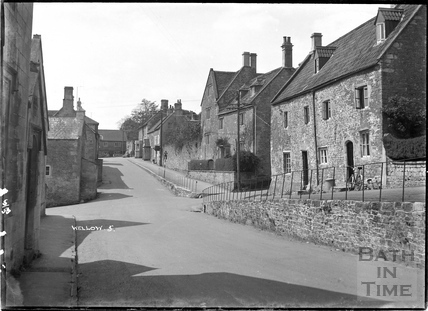 Wellow High Street No 5. Feb 1953