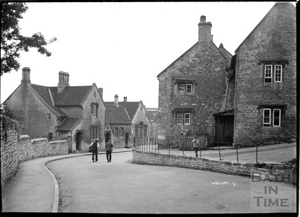 Wellow village view No.9 c.1950s