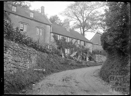 Wellow village view No.11 c.1950s
