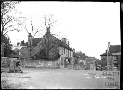 Wellow, The New Inn, c.1930s