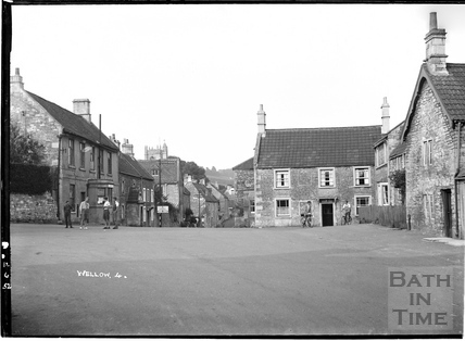 Wellow village scene No 4, 12 June 1952